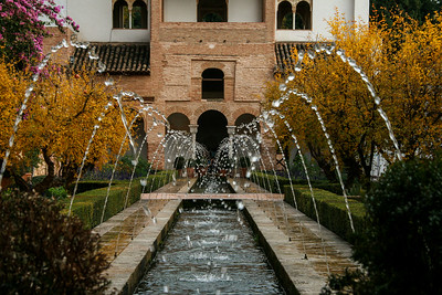 Fountain at Alhambra ~ Granada, Spain