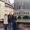 Frankfurt, Germany - Mercedes with Pan Am friends Dianne & Doug - 1980