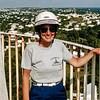 Mercedes atop Gibbs Lighthouse