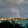Rainbow over the marina