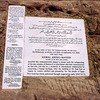 Abu Simbel commemorative plaque