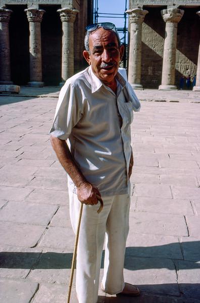 Luxor guide - Egyptian college professor