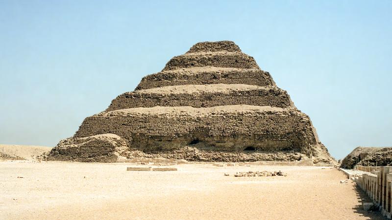 'Stepped' Pyramid of Djoser (2650 BCE) - Northwest of Memphis
