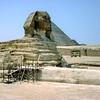 Great Sphinx under restoration