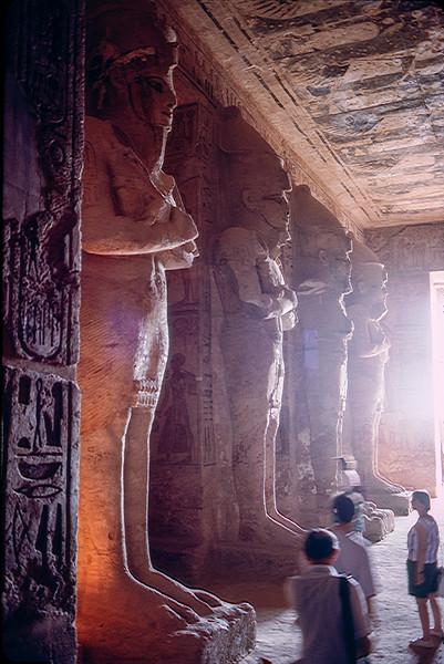 Interior of Abu Simbel