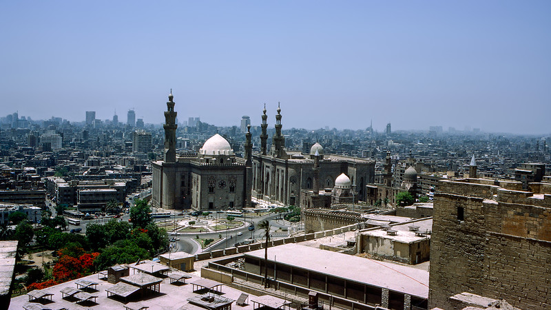 Cairo panorama from our hotel room