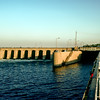Esna Lock on the Nile River (1990's)