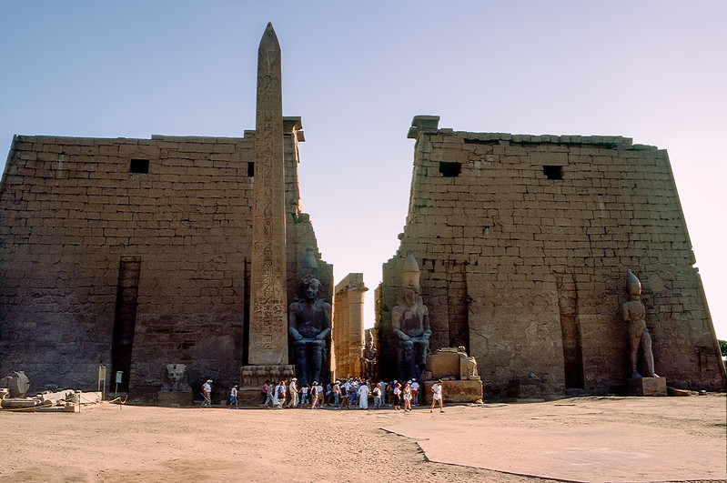 Temple of Luxor (1400 BCE)