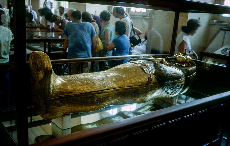 Sarcophagus of King Tutankhamun (ca. 1323 BCE)