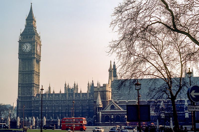 Palace of Westminster- Parliament Building - 1981
