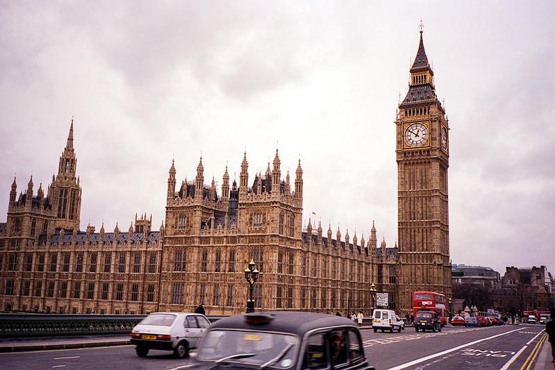 Parliament & Big Ben circa 1994