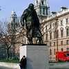 Statue of Winston Churchill, Parliament Square (1973)