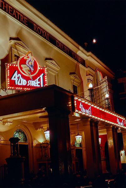 London 1985 - Theatre Royal Drury Lane - 42nd Street