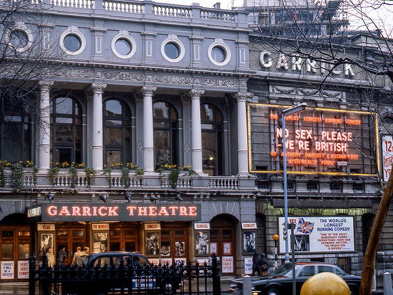 Garrick Theatre - No Sex Please We're British - 1983