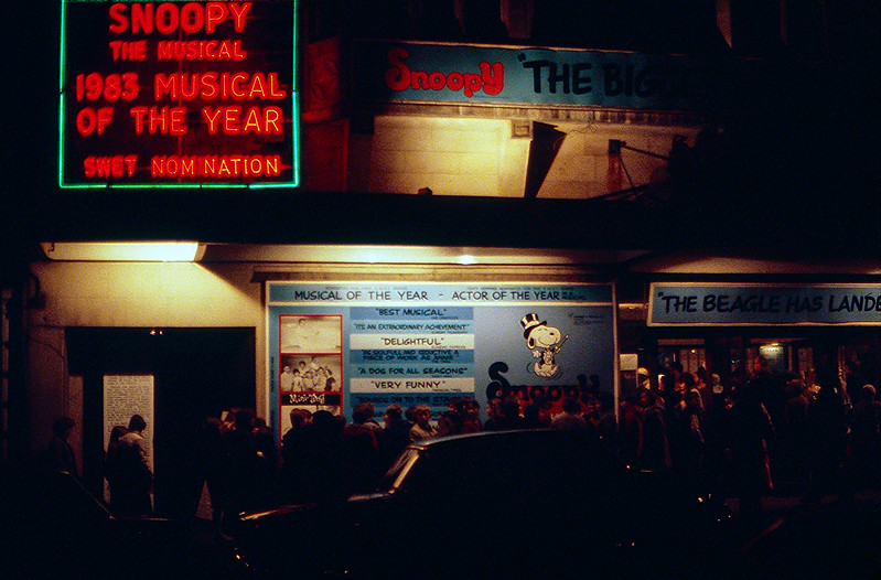 London 1984 - Snoopy The Musical