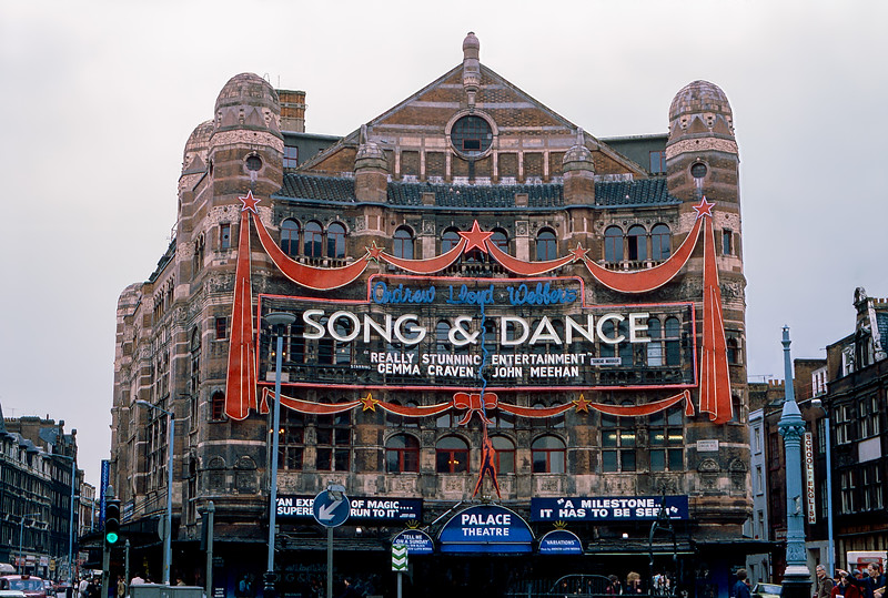 Palace Theatre - Song & Dance - 1983