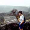 Kīlauea shield volcano - Overlook - 1988