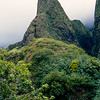 Iao Needle - 2,250' / 1200'  from the valley floor