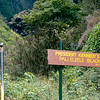 JFK profile rock - A natural black lava rock formation - Black Gorge, Iao Valley
