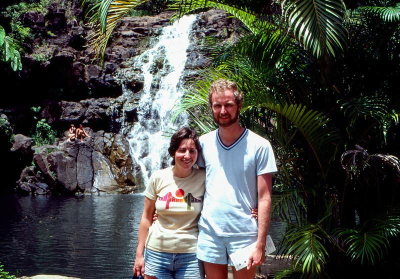 Mercedes & Barry on their honeymoon - 1981