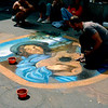 Amsterdam street painter