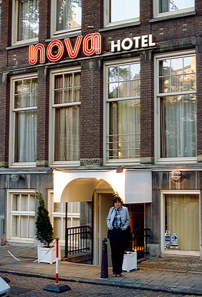 Amsterdam, Holland - Nova Hotel - 1985