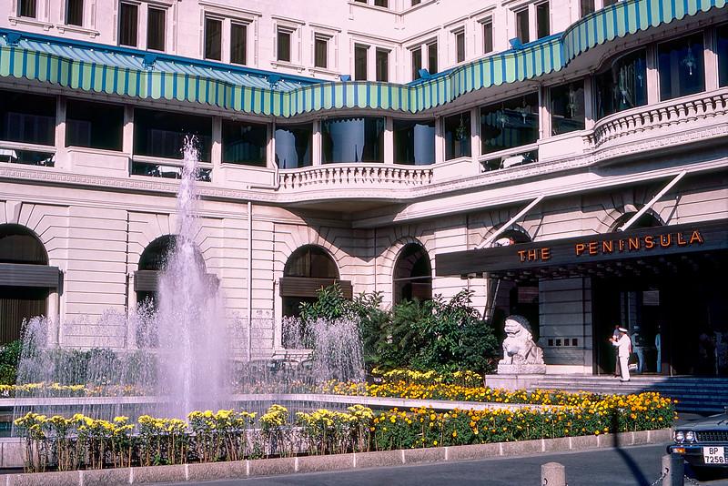 Hong Kong - The Peninsula hotel - November 1980