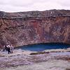 Kerið's Caldera - Volcanic crater lake