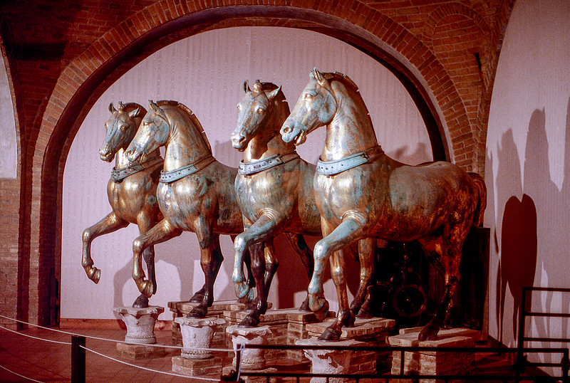 Venice - The Horses of St. Mark's Basilica (c. 175 AD) - 1984