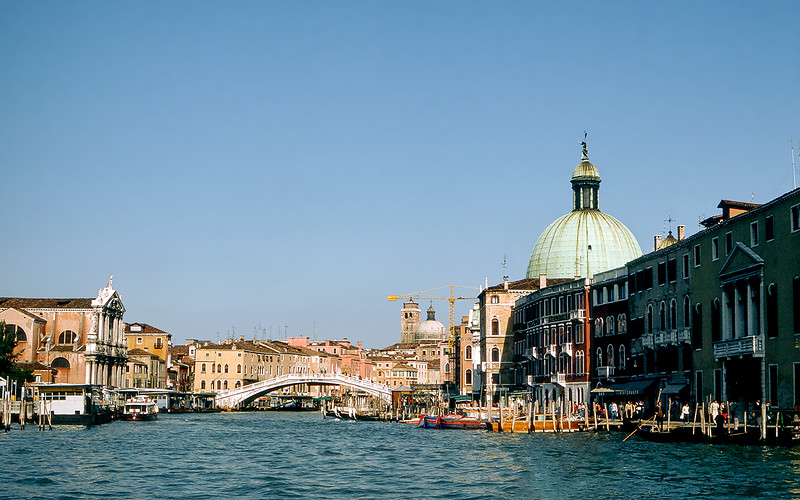 Venice - Grand Canal - 1984