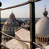 View from atop the Leaning Tower - 1984