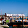 Water taxi to Murano, Burano & Torcello - 1984