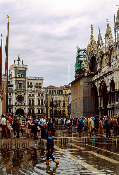 Saint Mark's Square at high tide
