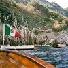 Blue Grotto - Approaching by boat