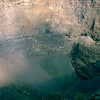 Mt. Vesuvius crater - last erupted in 1944 - 1984