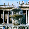 Bernin's Fountain (1675) - St. Peter's Piazza - 1981