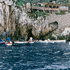 Blue Grotto - Entering via a row boat - 1984
