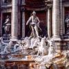 Trevi Fountain closeup - 1981