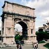 Rome - Via Sacre - The Arch of Titus (c. 82 AD) - 1981