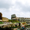 Rome - Colosseum (80 AD) & surrounding area - 1981