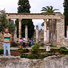 Gardens among the ruins of Pompeii - 1984