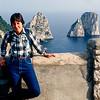Faraglioni Rocks - Southern coast, Capri - 1984