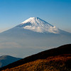 Mt. Fuji's last erruption was in 1707