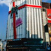 Tokyo - Building wrapped as a Christmas present - 1985