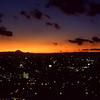Tokyo & Mt. Fuji after sunset