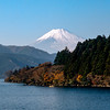 Mt. Fuji & 1 of the 5 sacred lakes - 1985