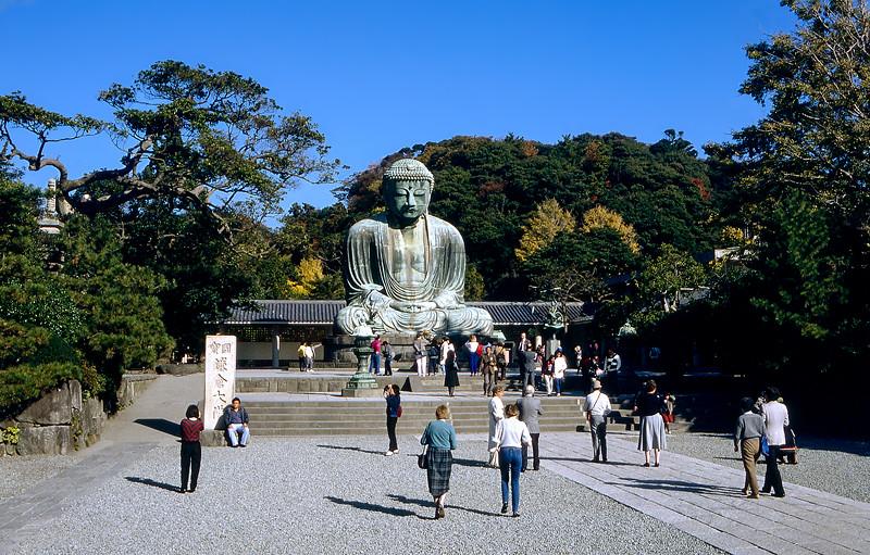 Kotokuin Temple - Bronze statue of Amida Buddha