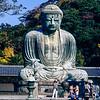 The Great Buddha of Kamakura (1252) - 1985