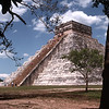 Chichen Itza - Ancient Mayan built pyramid