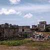 Tulum ruins - Pyramid El Castillo (The Castle)